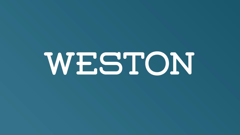 Weston шрифт скачать бесплатно