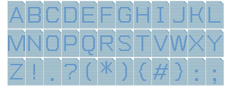 Perfocard 4f шрифт скачать бесплатно