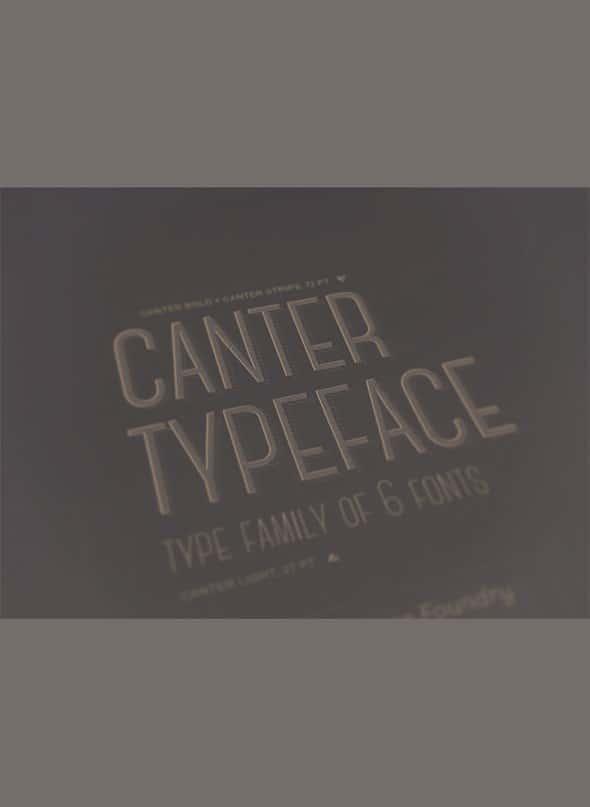 Canter шрифт скачать бесплатно