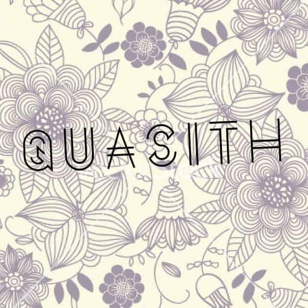 Quasith шрифт скачать бесплатно