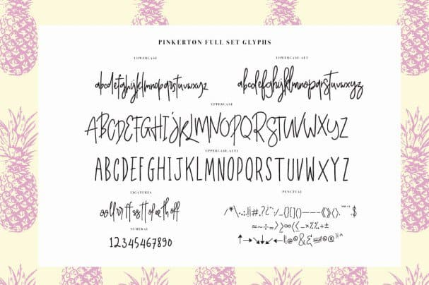 Pinkerton шрифт скачать бесплатно