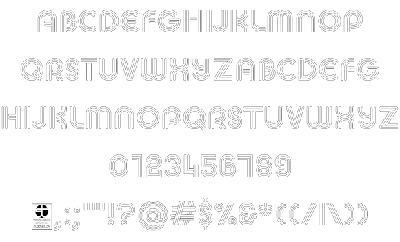 MACCOS Demo шрифт скачать бесплатно