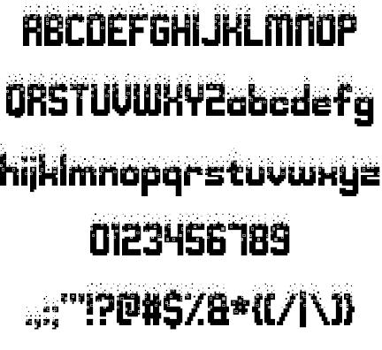 Nightmare Codehack шрифт скачать бесплатно