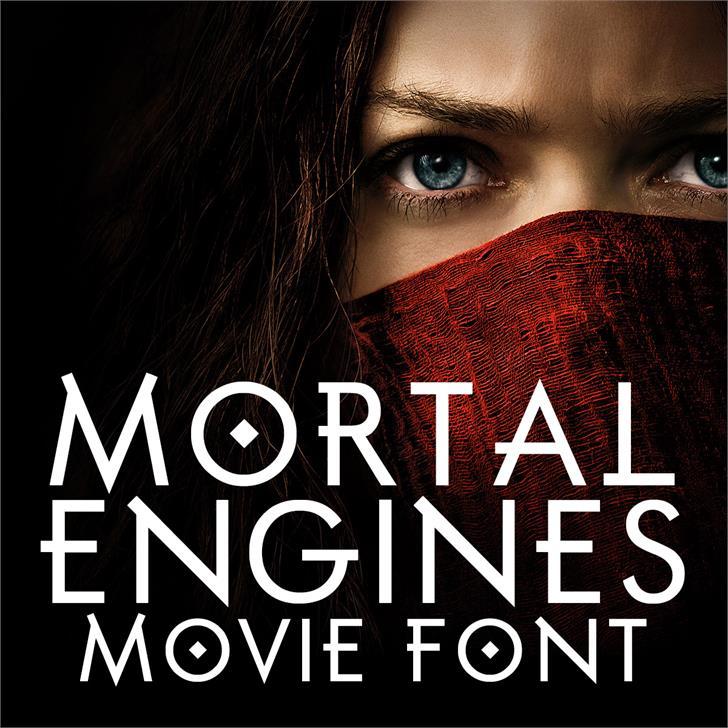Mortal Engines шрифт скачать бесплатно