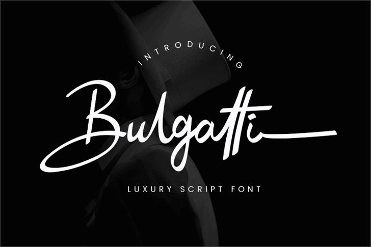 Bulgatti шрифт скачать бесплатно