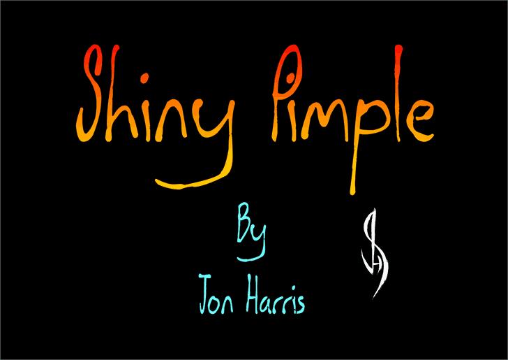 Shiny Pimple шрифт скачать бесплатно