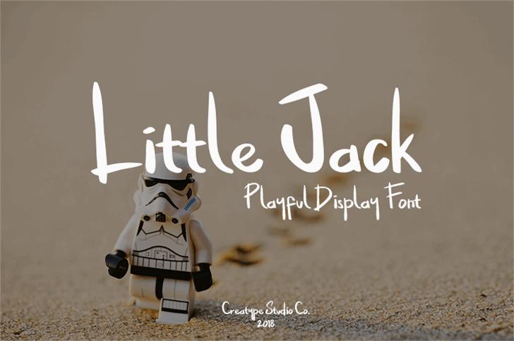 Little Jack шрифт скачать бесплатно