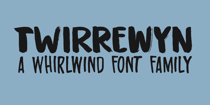 Twirrewyn шрифт скачать бесплатно