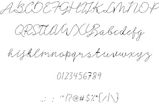 Signerella шрифт скачать бесплатно