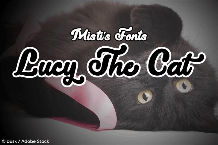 Lucy the Cat шрифт скачать бесплатно