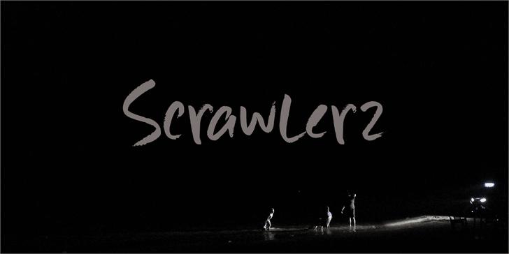 Scrawlerz шрифт скачать бесплатно