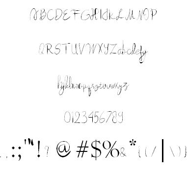 Beautyforest шрифт скачать бесплатно