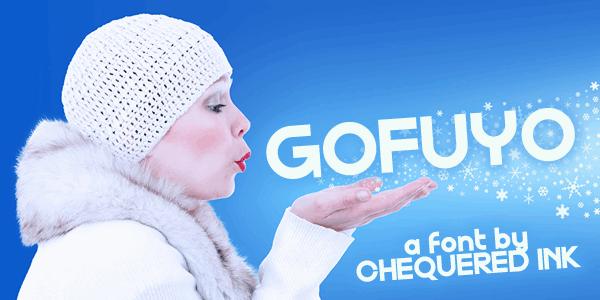 Gofuyo шрифт скачать бесплатно