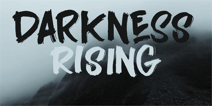 Darkness Rising шрифт скачать бесплатно