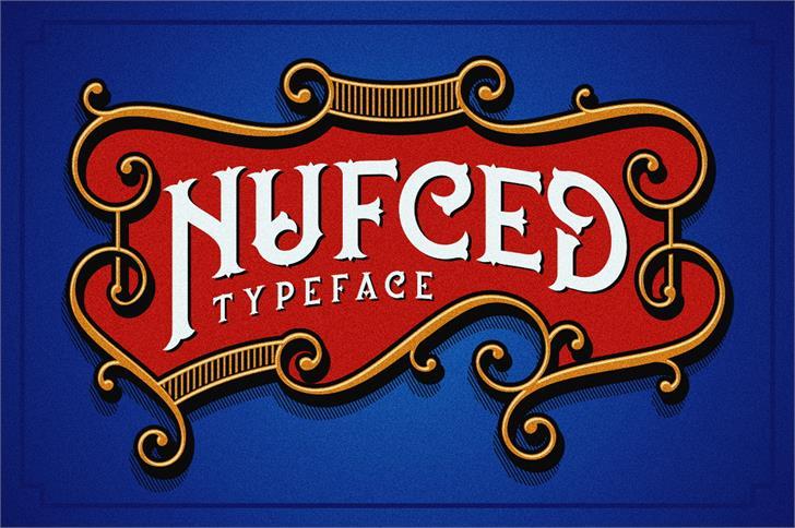 Nufced шрифт скачать бесплатно