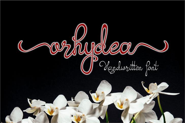 Orhydea шрифт скачать бесплатно