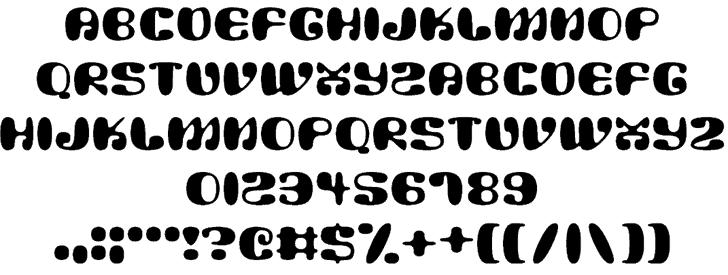 Alien Mushrooms шрифт скачать бесплатно