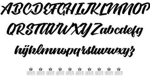 Graceland шрифт скачать бесплатно