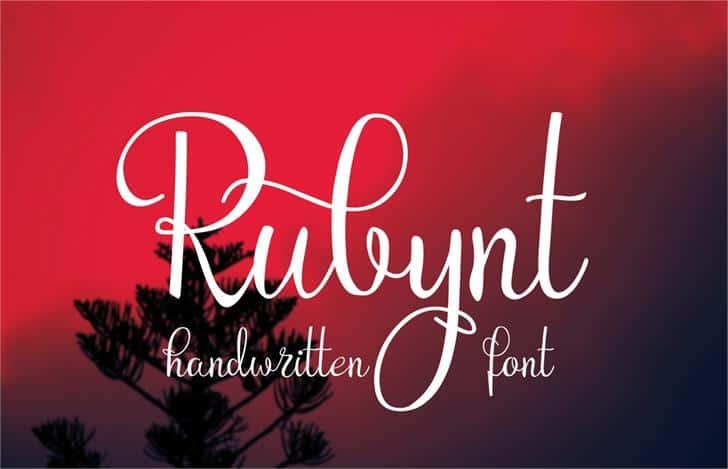 Rubynt шрифт скачать бесплатно