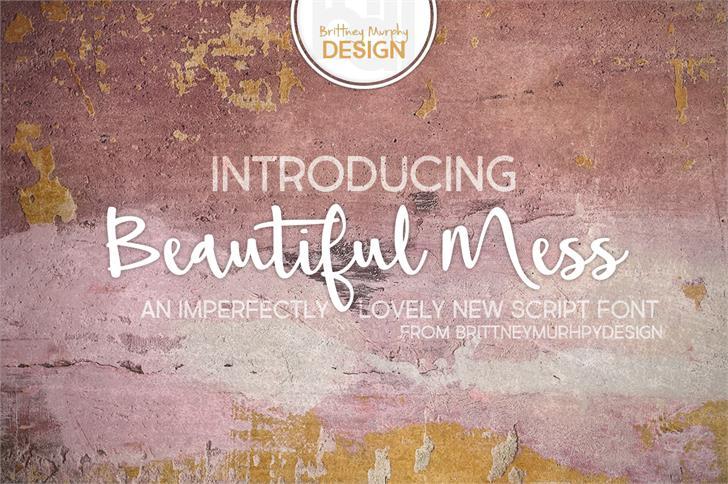 Beautiful Mess шрифт скачать бесплатно