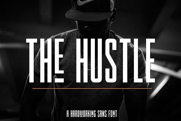 The Hustle   - Latin шрифт скачать бесплатно