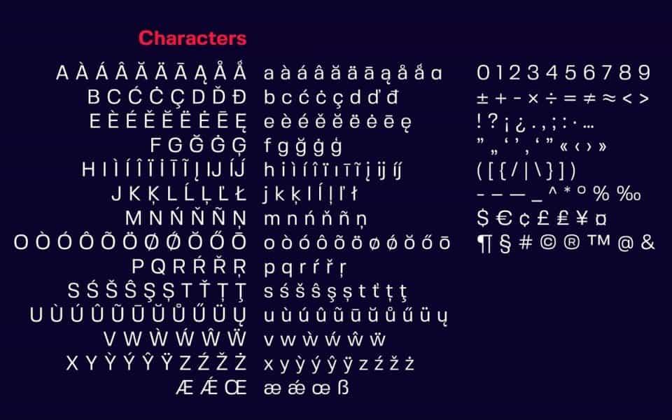 Fivo Sans шрифт скачать бесплатно