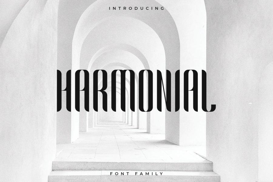 Harmonial шрифт скачать бесплатно