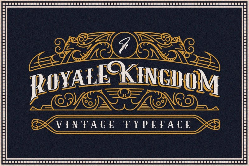 Royale Kingdom шрифт скачать бесплатно
