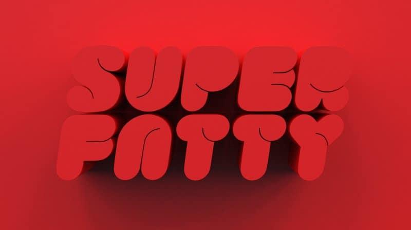 Superfatty шрифт скачать бесплатно