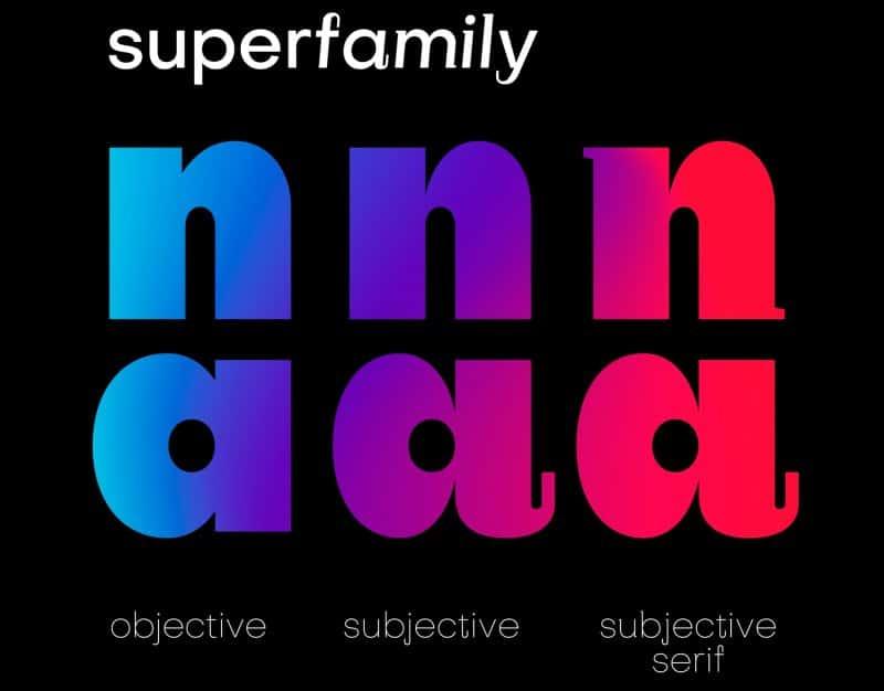 Subjectivity шрифт скачать бесплатно