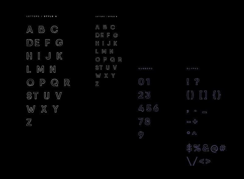 Neon шрифт скачать бесплатно