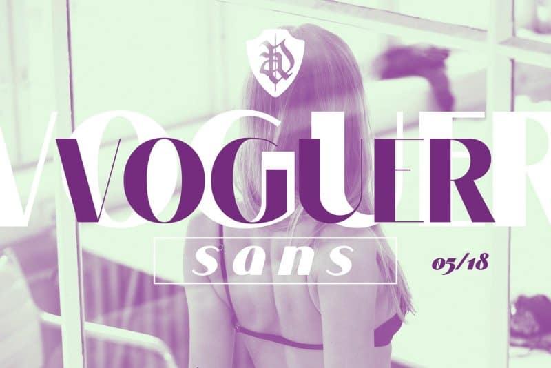 Voguer Sans шрифт скачать бесплатно