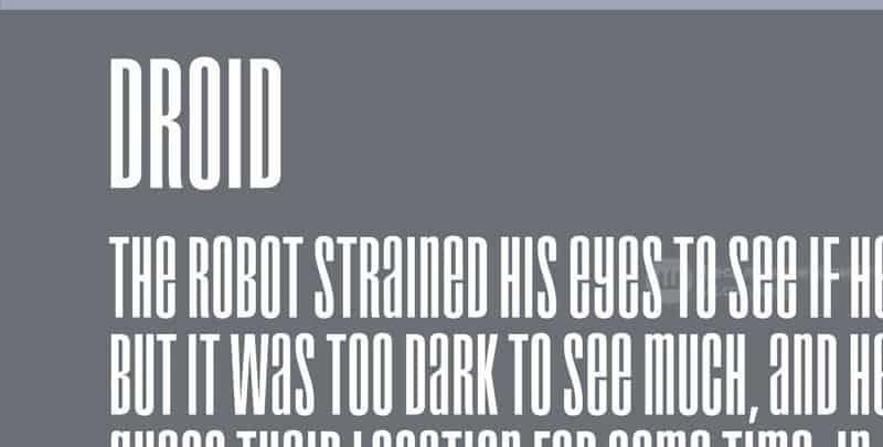Droid шрифт скачать бесплатно