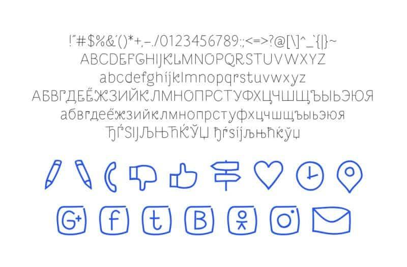 Dacha шрифт скачать бесплатно