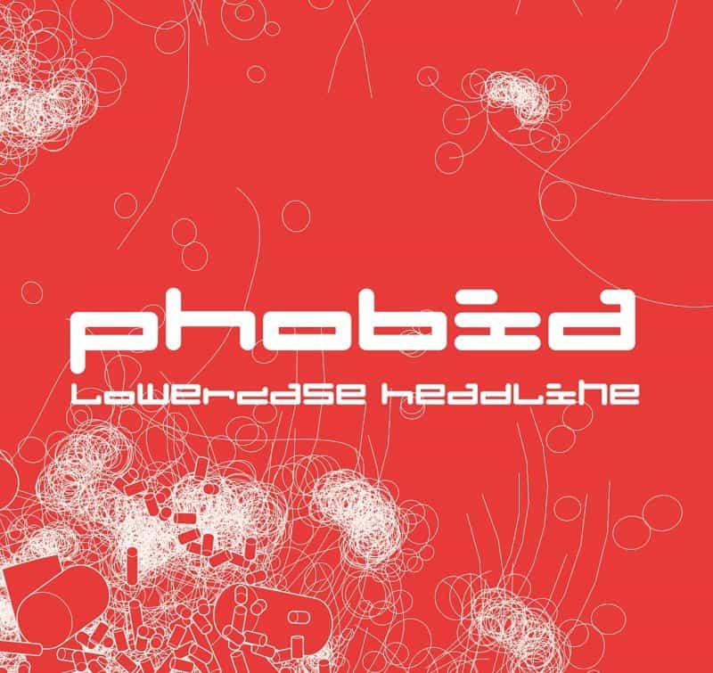 Phobia шрифт скачать бесплатно