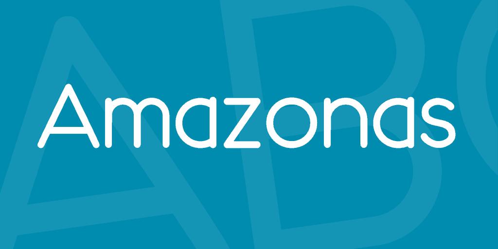 Amazonas шрифт скачать бесплатно