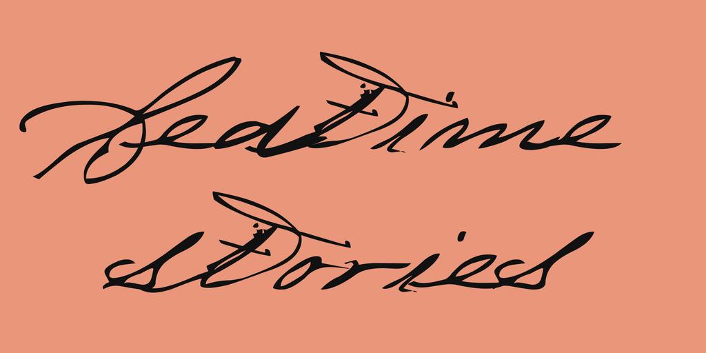 Bedtime stories шрифт скачать бесплатно