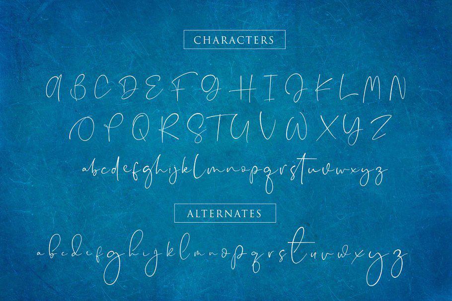 Appocalypse Signature шрифт скачать бесплатно