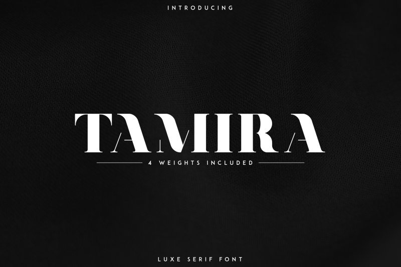 Tamira шрифт скачать бесплатно