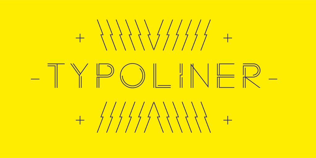 Typoliner-RW шрифт скачать бесплатно