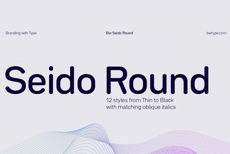 Seido Round шрифт скачать бесплатно