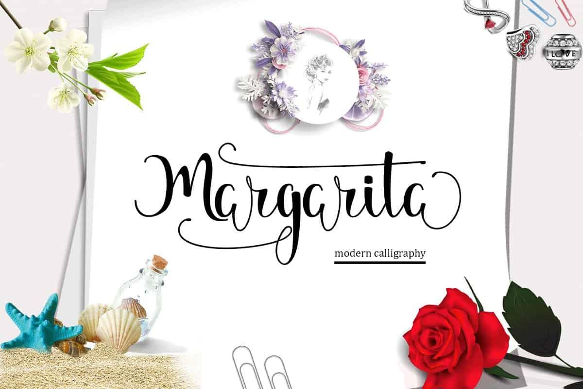 Margarita шрифт скачать бесплатно