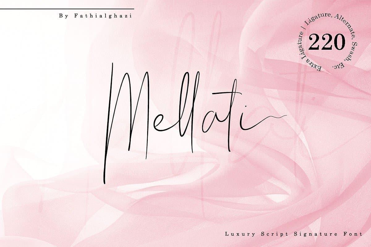 Mellati шрифт скачать бесплатно