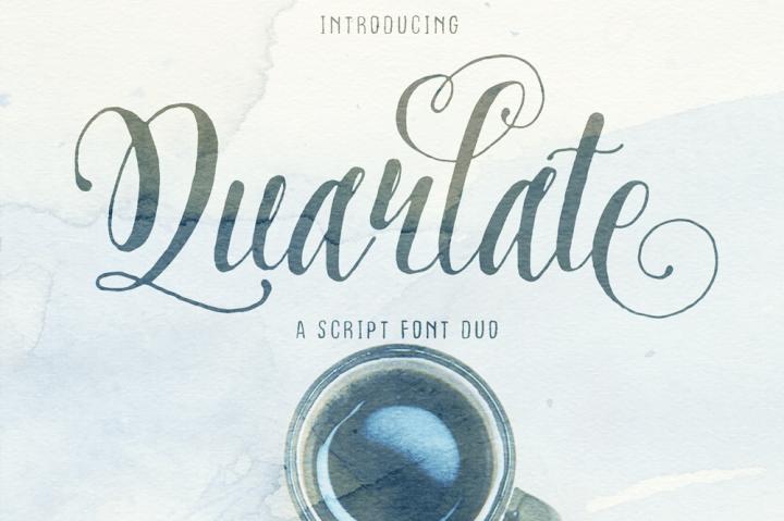 Quarlate шрифт скачать бесплатно