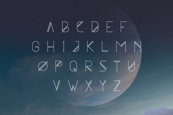 Astrobia Family шрифт скачать бесплатно