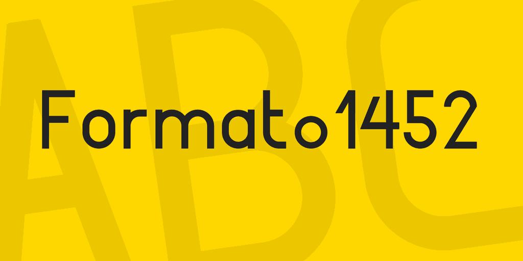 Format_1452 шрифт скачать бесплатно