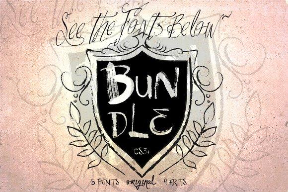 BUNDLE шрифт скачать бесплатно