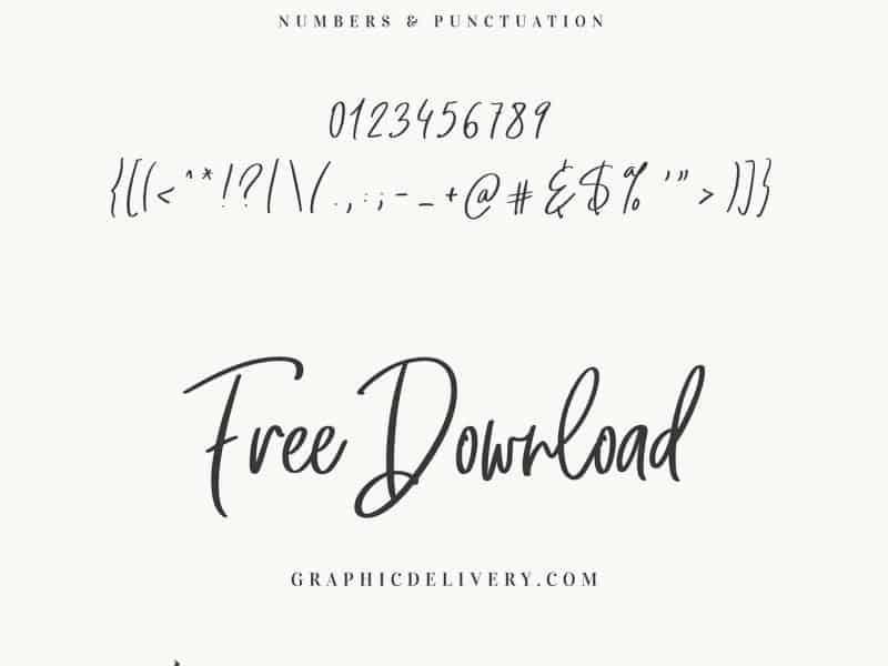 The Secret шрифт скачать бесплатно