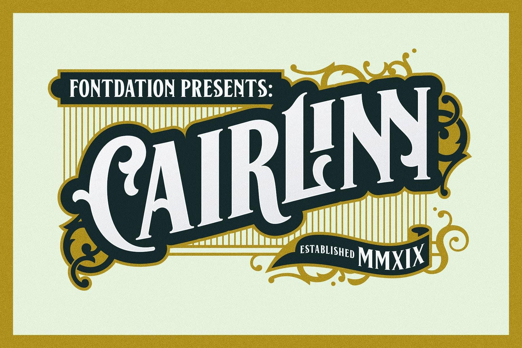 Cairlinn шрифт скачать бесплатно