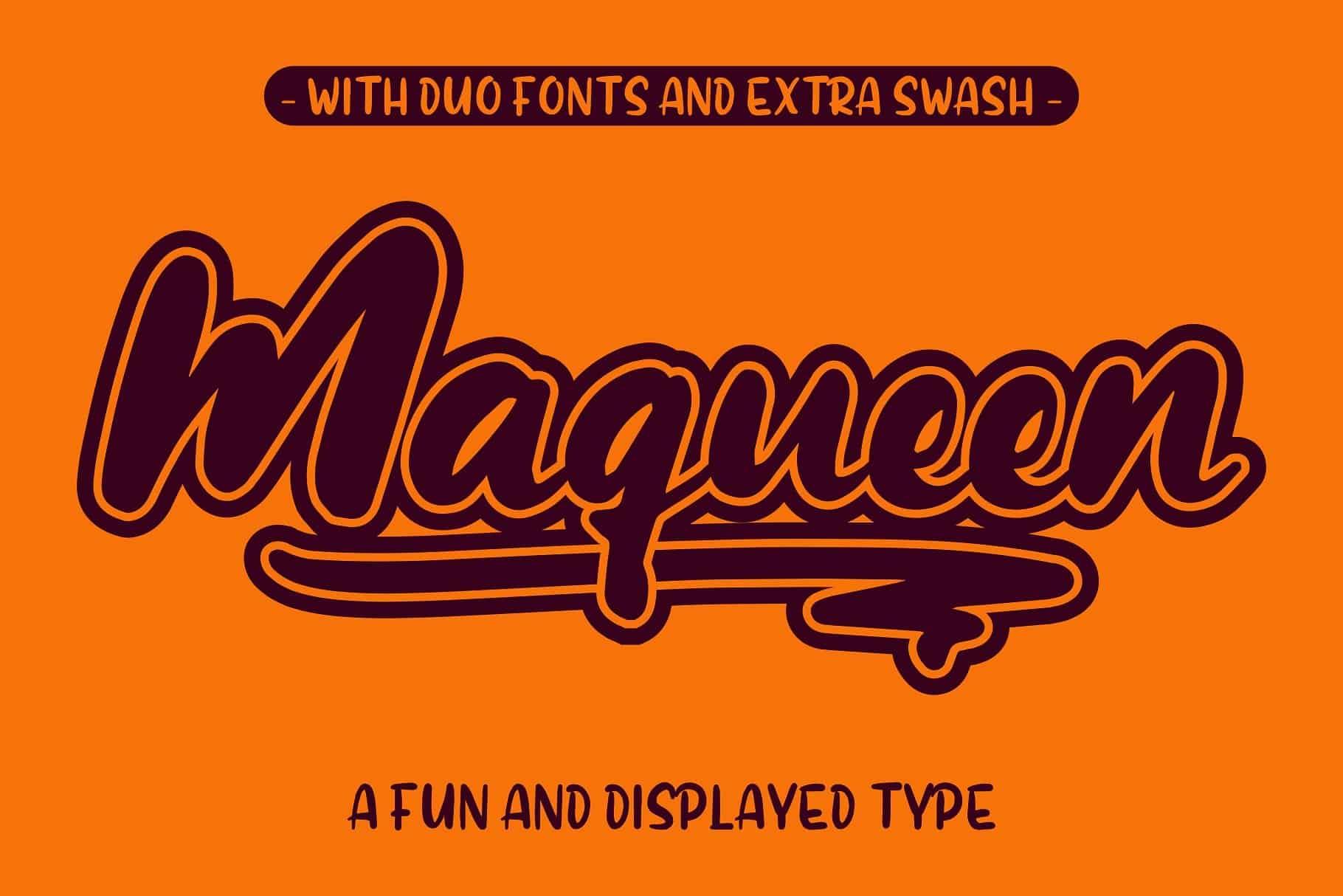 Maqueen шрифт скачать бесплатно
